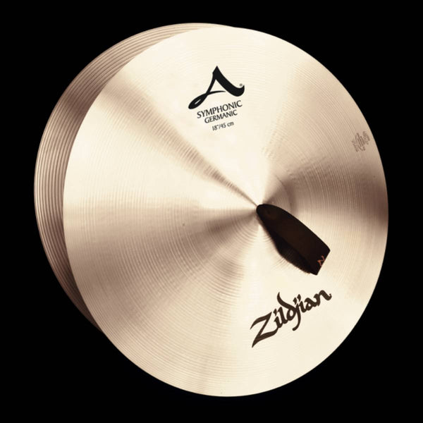 "Zildjian 18"" Symphonic French, Viennese or German – pair w/straps"