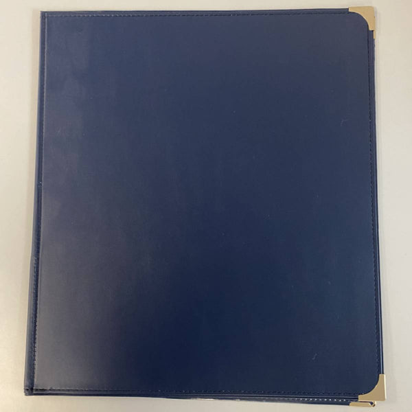 "Allegro ""Best Band Folder"" Concert Band Folio With Gusseted Pockets - Navy"
