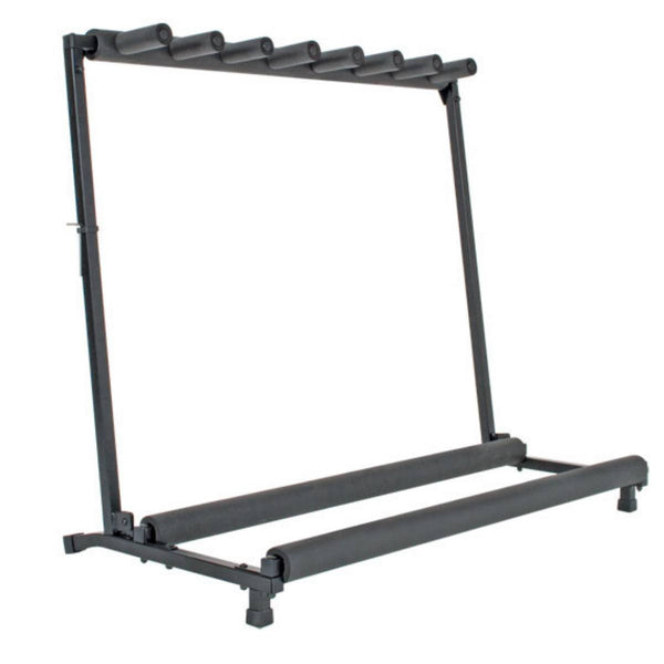 XTREME 7-Piece Guitar Rack for Acoustic, Electric and Bass Guitars