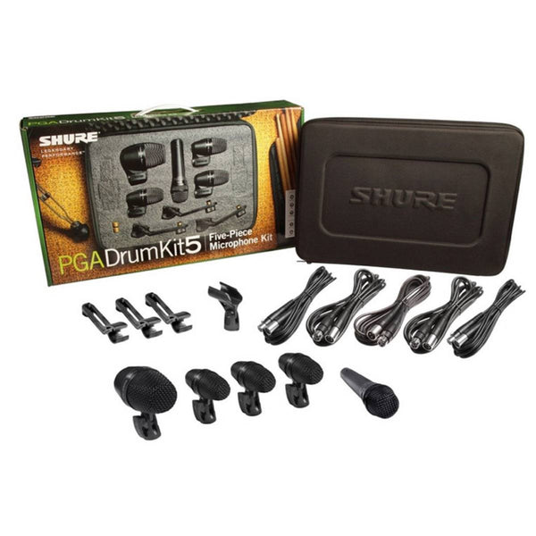 Shure PGA 5-Piece Drum Microphone Kit