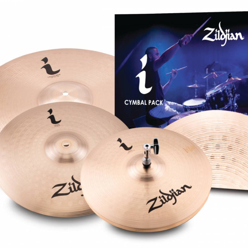 Zildjian I Family  Essentials Plus Cymbal Pack (13/14/18)