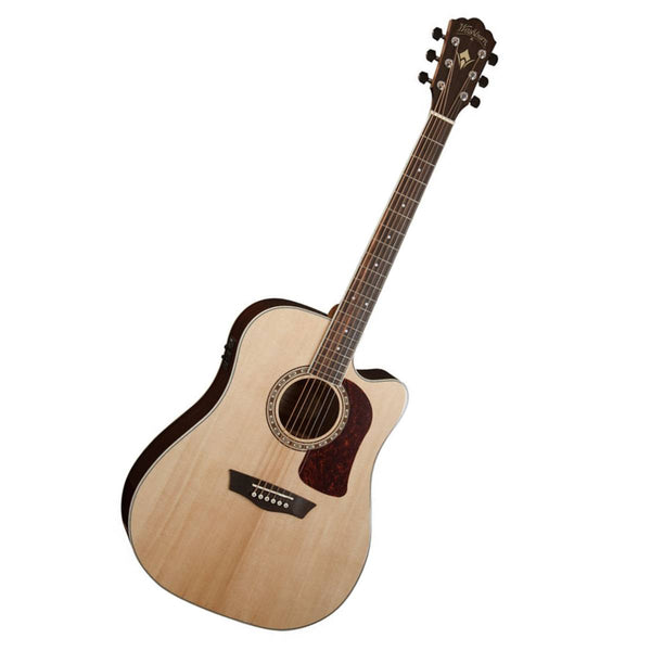 WASHBURN HD20SCE HERITAGE 20 Acoustic/Electric Guitar in Natural