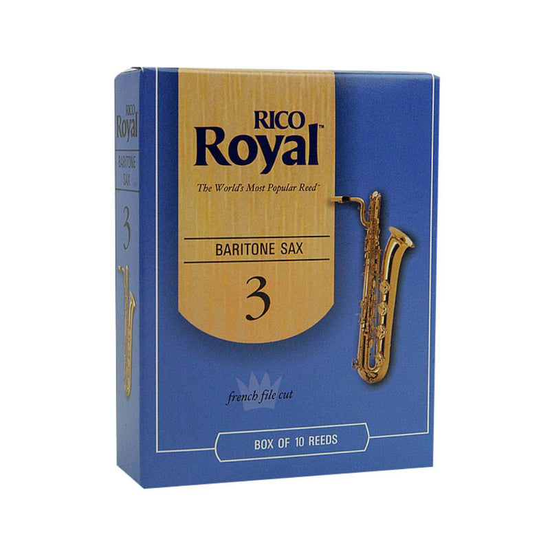 Rico Royal Baritone Sax Reeds (Box of 10)