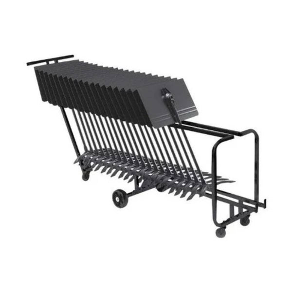 Manhasset Value Pack - Long Cart with 24 Symphony Stands