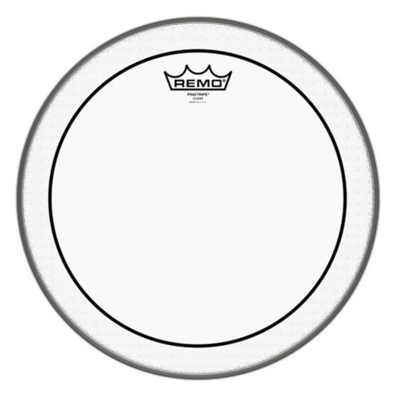 "Remo PS-0314-00 Pinstripe Clear 14"" Drum Head"