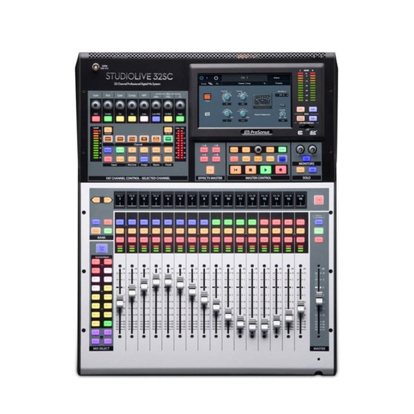 PreSonus StudioLive 32SC 32-Ch Digital Mixer & USB Audio Interface w/ Motorised Faders
