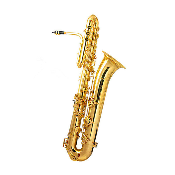 Woodchester WBS-1100 Bass Saxophone Gold Lacquer