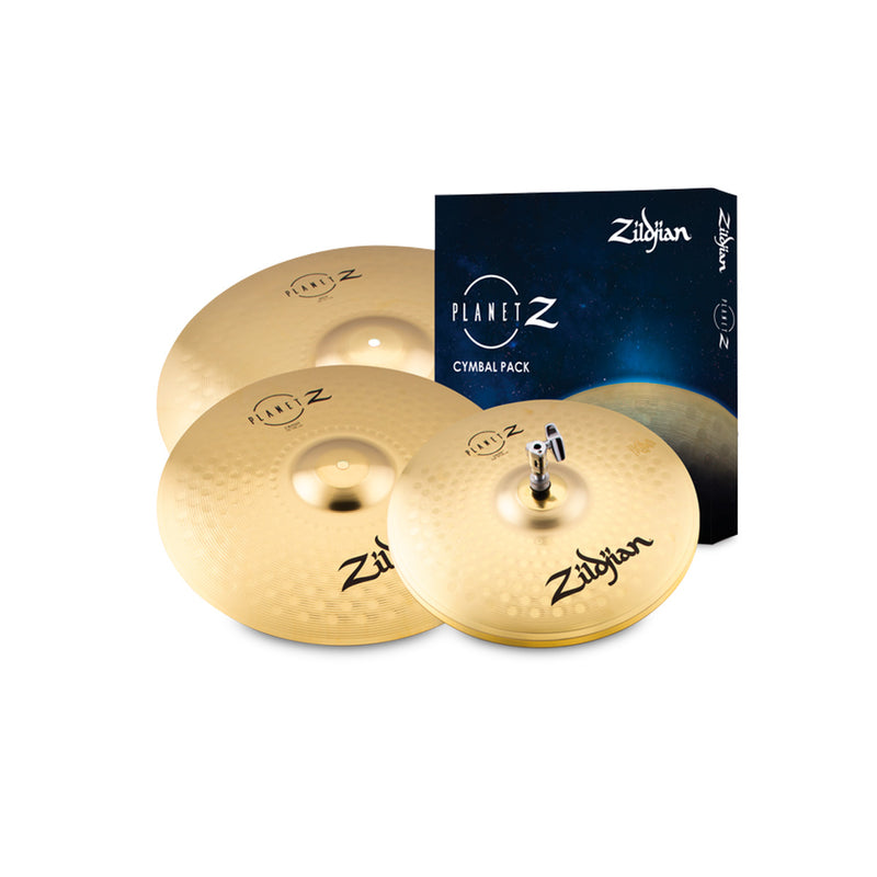"Zildjian Planet Z Cymbal Pack (14"", 16"", 20"")"