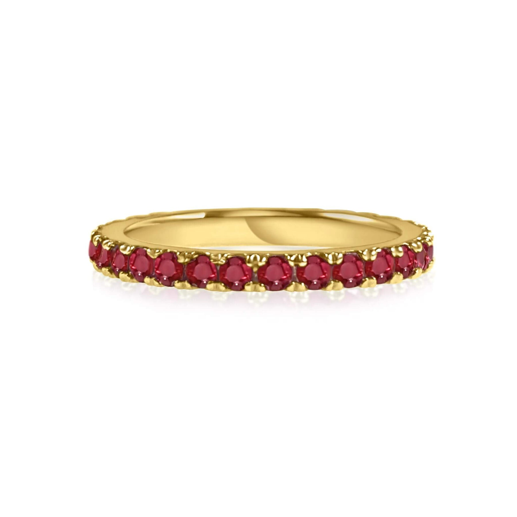 Ruby Stackable Band