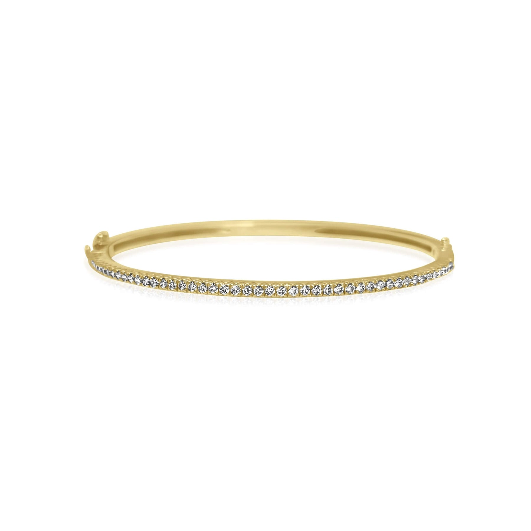 Thin Diamond Bangle