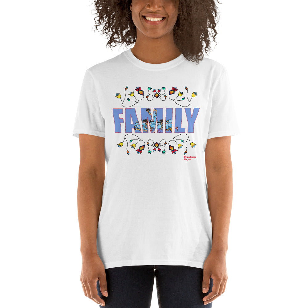FAMILY Floral Unisex T-Shirt