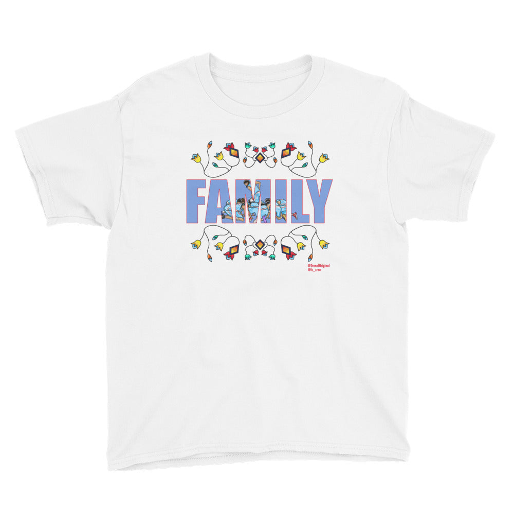 Youth FAMILY Floral Short Sleeve T-Shirt