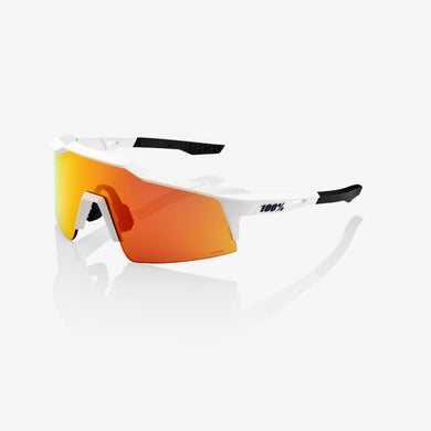 Speedcraft - Off White - HiPER Red Multilayer Mirror Lens