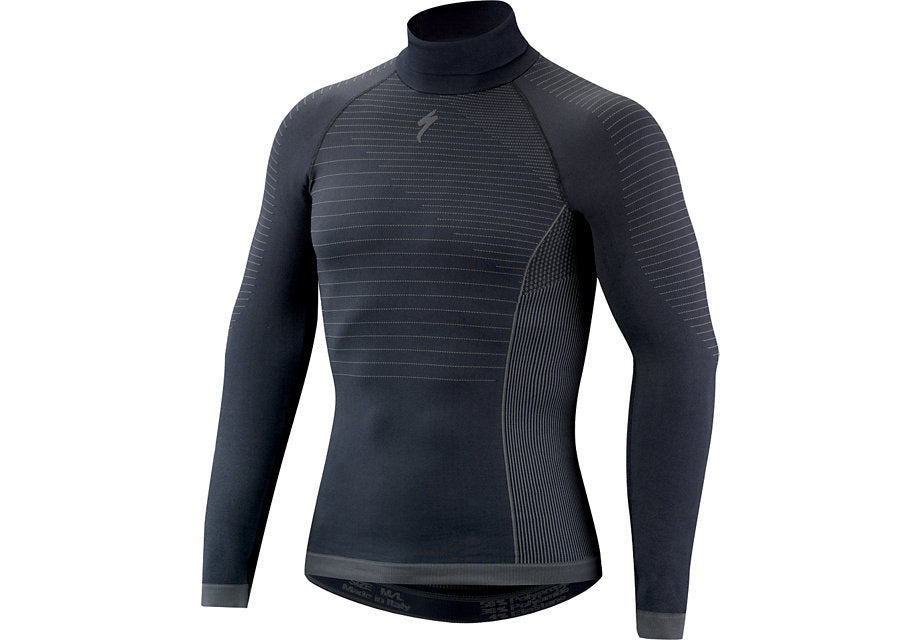 SEAMLESS LS LAYER WITH ROLL NECK