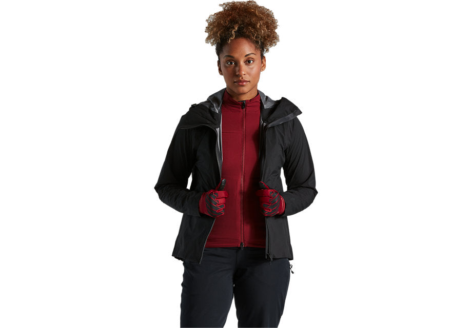WOMEN'S TRAIL-SERIES RAIN JACKET