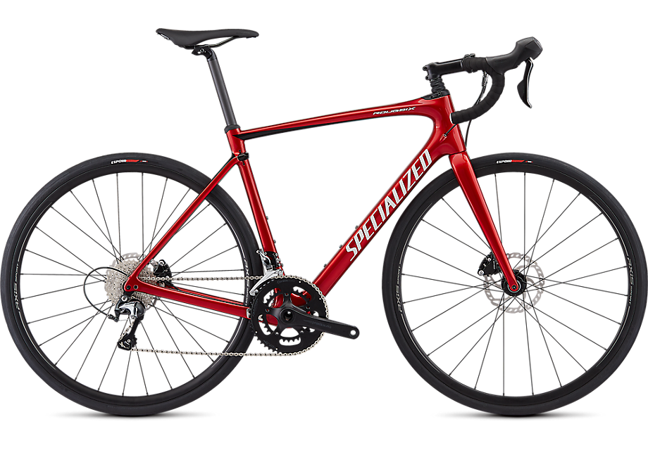 Roubaix Hydro Cndyred/tarblk/metwhtsil 54