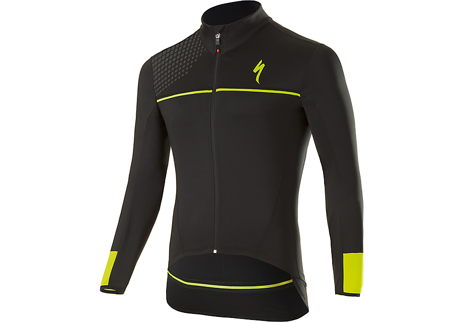 Element Sl Elite Race Jersey Ls Blk/neon Yel M