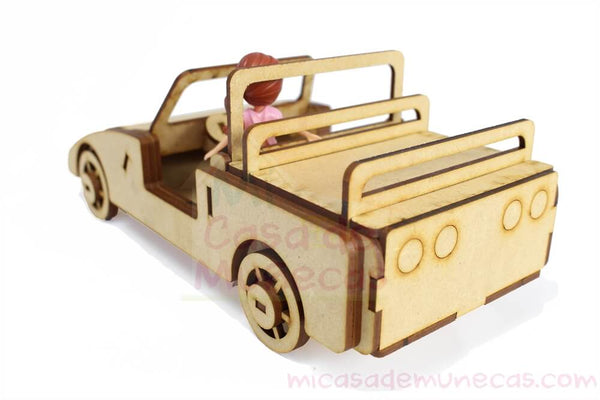 Carro para Polly Pocket