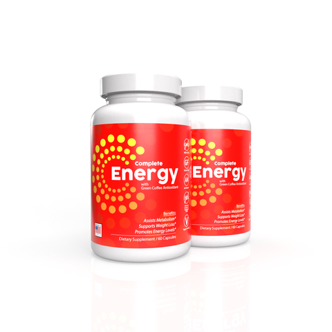 2x Complete Energy Formula with Green Coffee Antioxidant