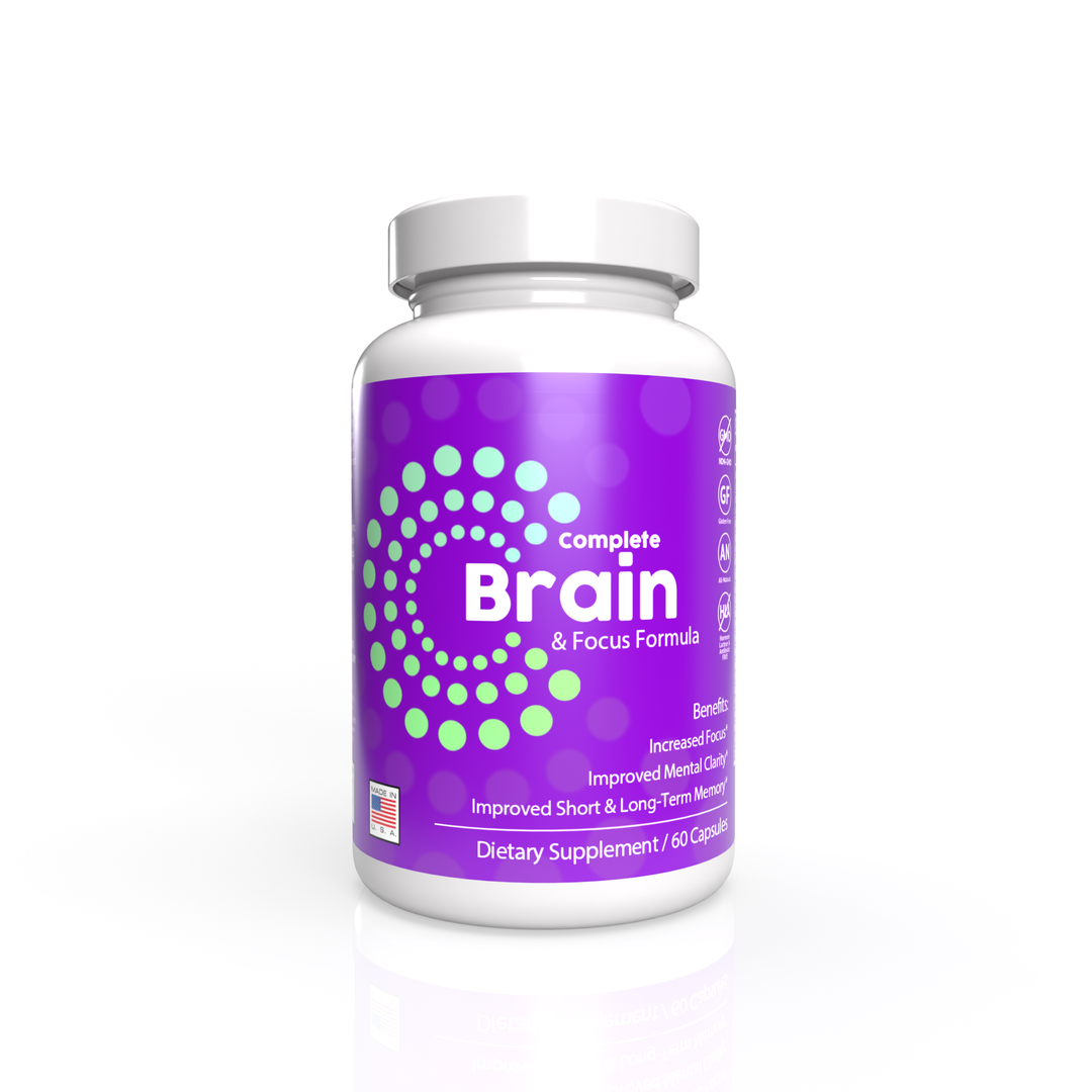 Complete Brain and Focus Formula (New Label Design, Same Great Product!)