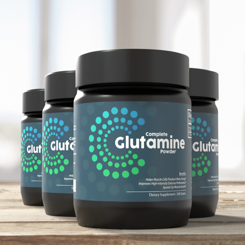 4x Complete Glutamine Pure
