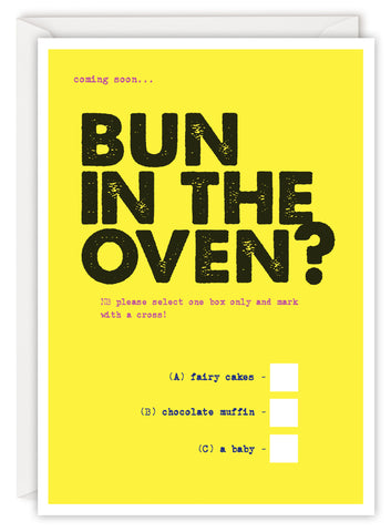 Bun in the oven?