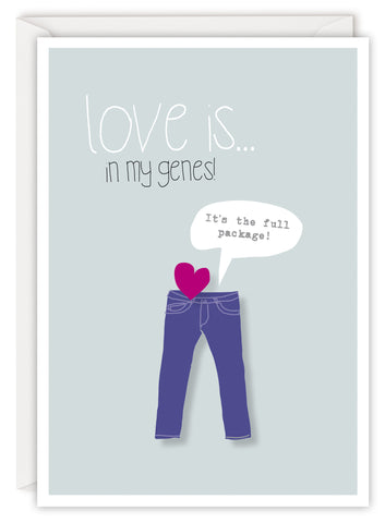 Love is… in my genes!