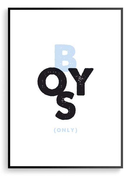 My Boys Only / Set of prints