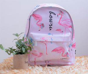 Flamingo style Bag pack.