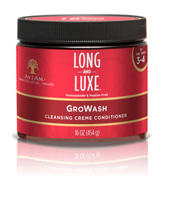 AS I AM Long & Luxe Cleansing Creme Conditioner Growash