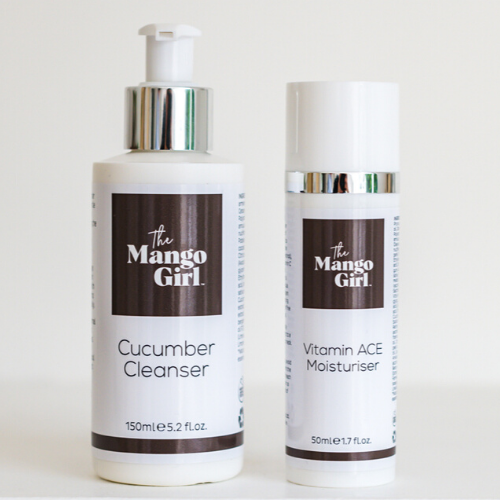 THE MANGO GIRL CLEANSER AND MOISTURISER BUNDLE