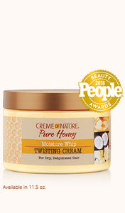 Creme of Nature Moisture Whip Twisting Cream 11.5oz