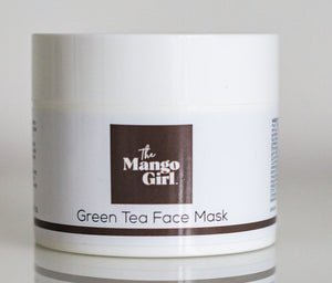 THE MANGO GIRL BLACK CLAY & LIQUORICE BRIGHTENING FACE MASK 100ML