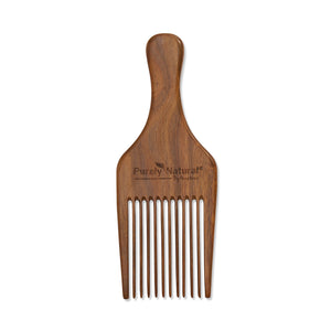 HAND CRAFTED SANDALWOOD AFRO COMB made from sandalwood