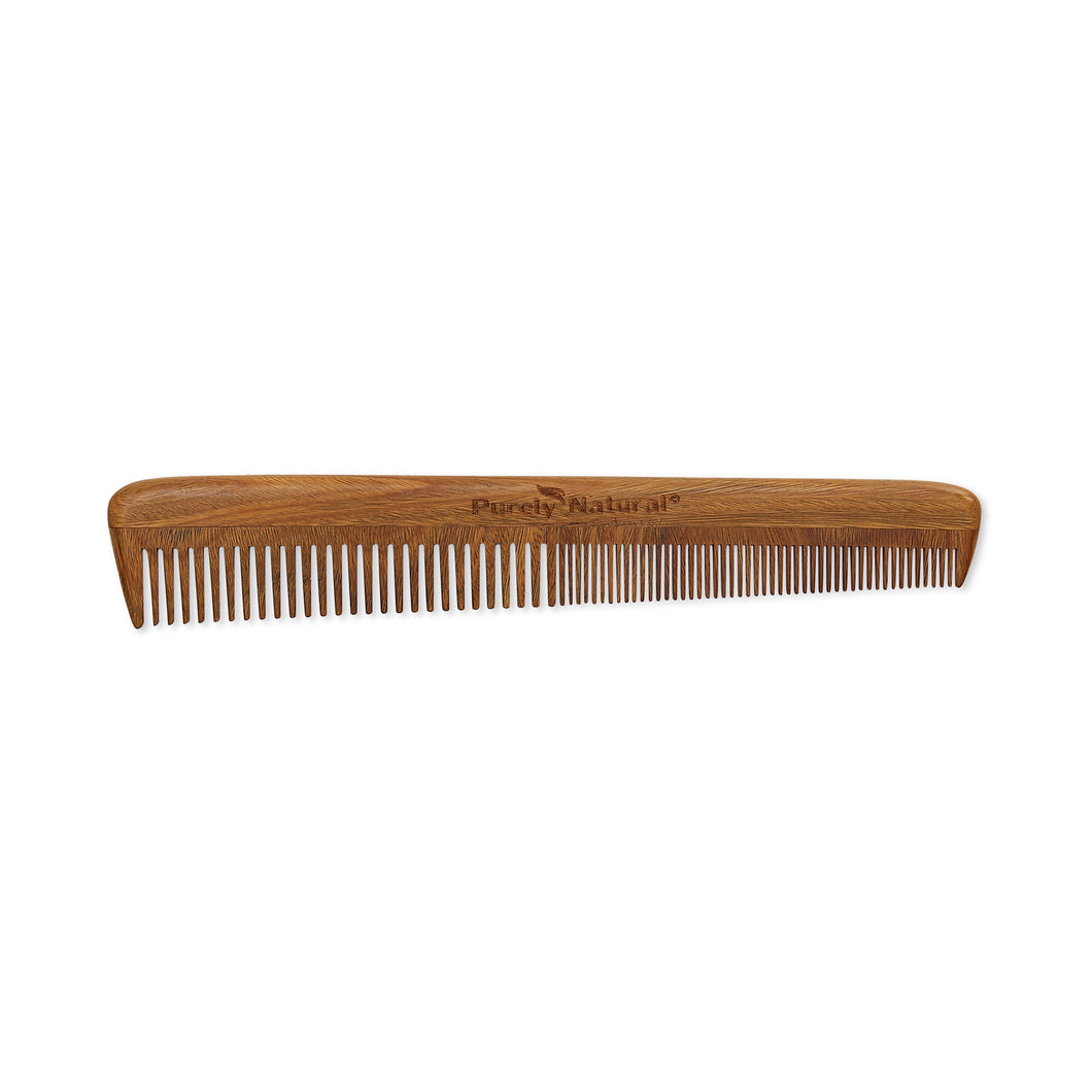 HAND CRAFTED SANDALWOOD Barber Comb