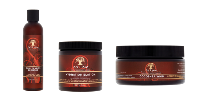 Curl Clarity Shampoo 213ml Hydration Elation 8oz and Cocoshea Whip 8oz Bundle