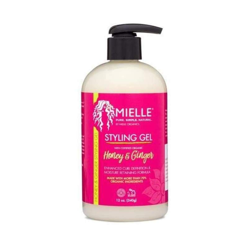 Mielle Organics Honey & Ginger Styling Gel 12oz
