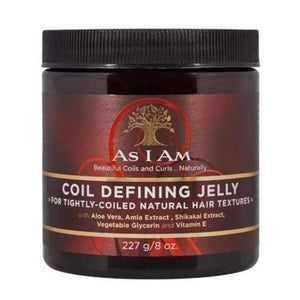 AS I AM Naturally Coil Defining Styling Jelly 227g