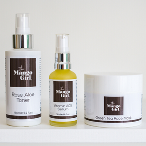 THE MANGO GIRL FACE MASK, TONER, SERUM BUNDLE