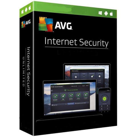 AVG Internet Security 1 Device / 1 Year
