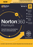 Norton 360 Premium 10 Device / 1 Year Europe Region