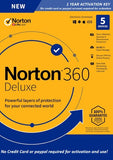 Norton 360 Deluxe 5 Device / 1 Year Europe Region