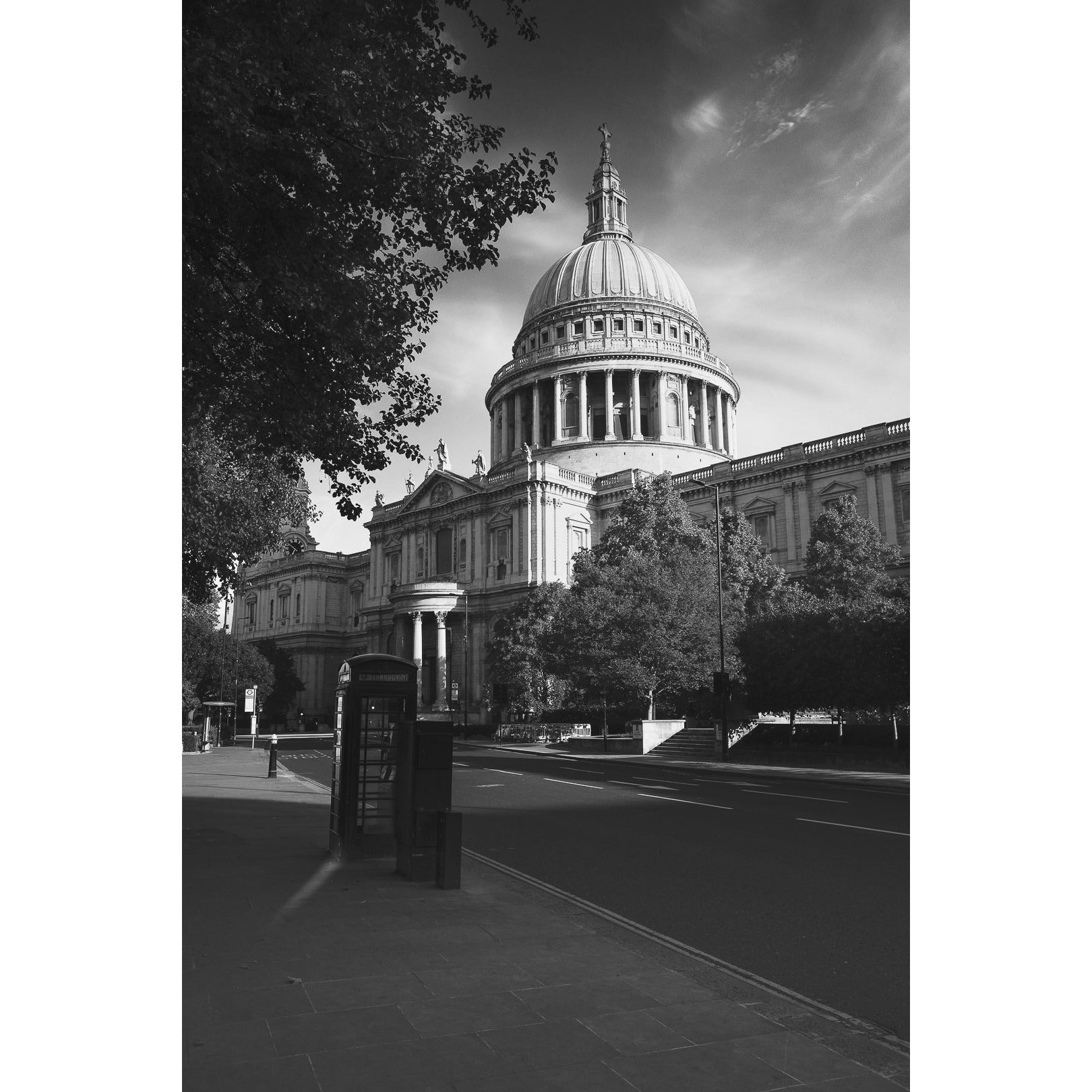 St Paul Cathedral London, Limited Edition Black & White