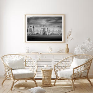 Buckingham Palace - Limited Edition Black and white