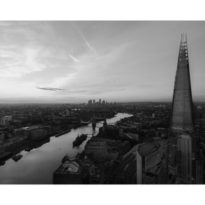 The Shard London - Limited Edition Black & White