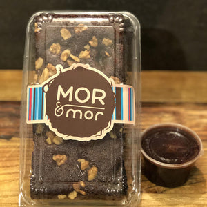 Brownie slab packaged