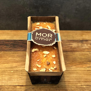 Orange and almond log in packaging