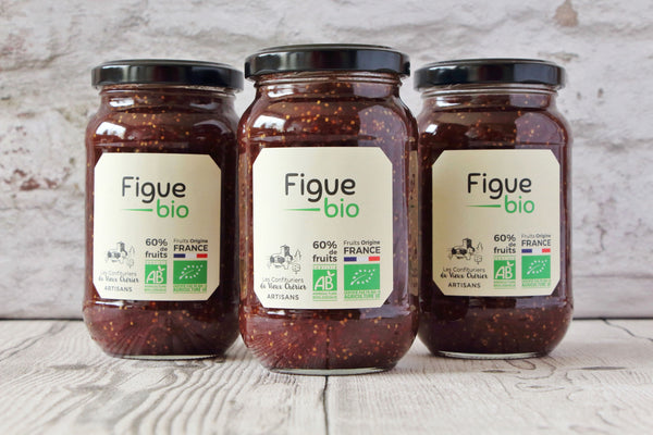 Confiture artisanale Figue BIO