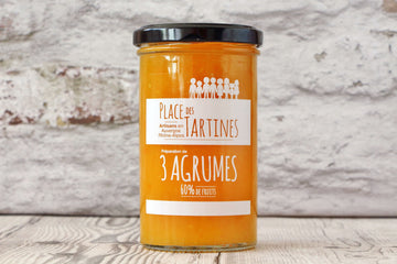 Confiture artisanale 3 Agrumes