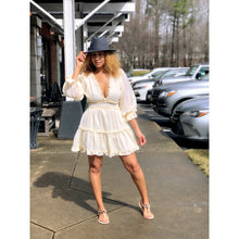Load image into Gallery viewer, Creamsicle Ruffle Dress